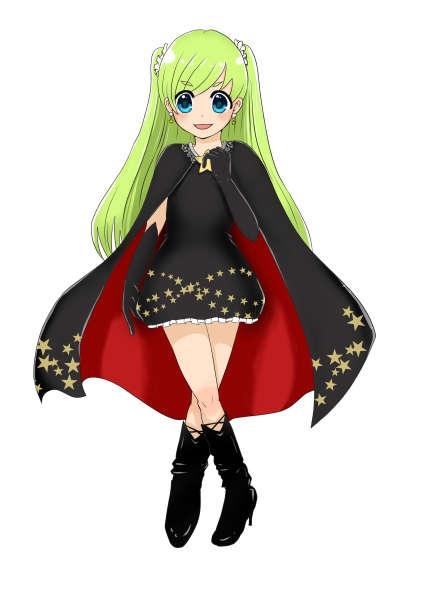 萌え系魔法少女を作成する予定が誤って魔女っ子に変貌をとげる